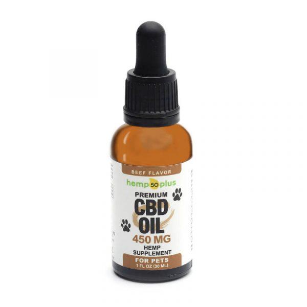 CBD oil for pets - 450 mg