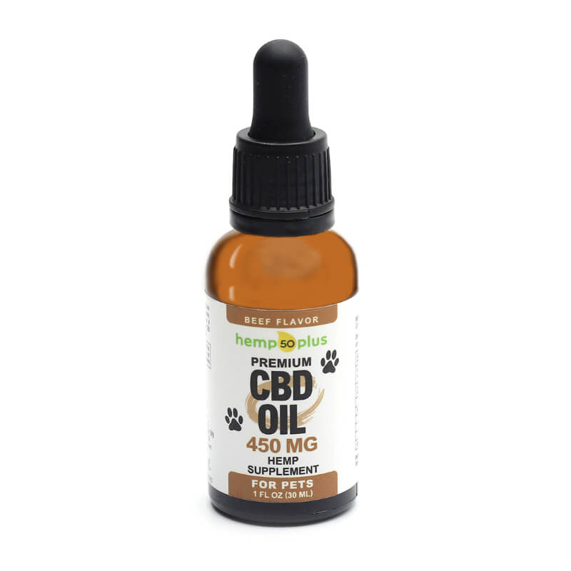 CBD oil for pets - 450 mg