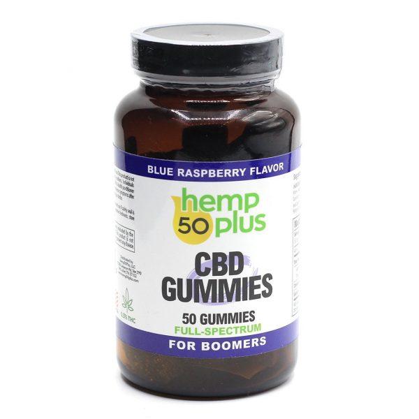 cbd-full-spectrum-gummies-50-count-jar-blue-raspberry