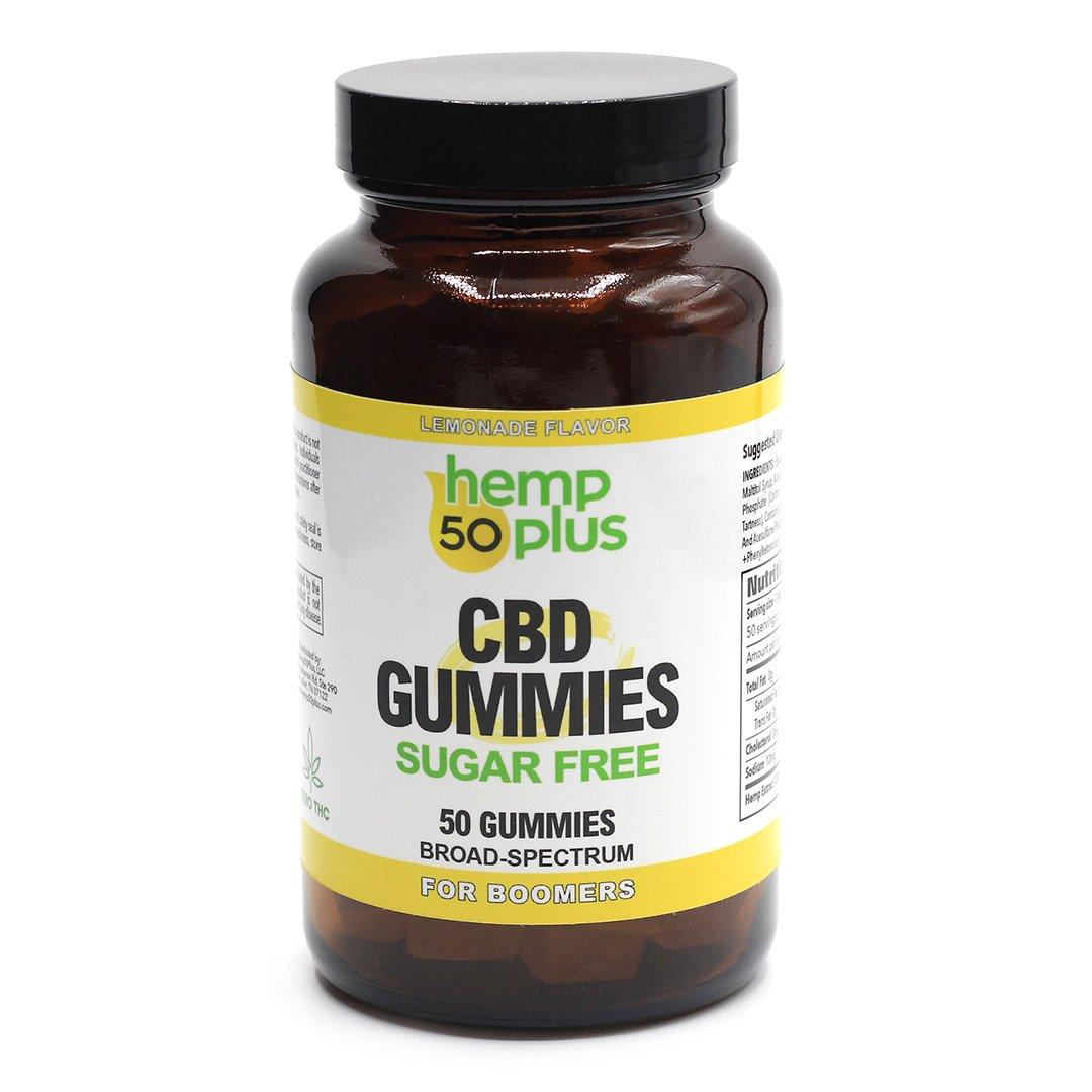 cbd gummies - broad spectrum - 50 count
