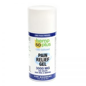 cbd pain relief gel - cbd isolate - 3000 mg - 4 oz