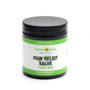 cbd pain relief salve - broad spectrum - 1500 mg - 4 oz