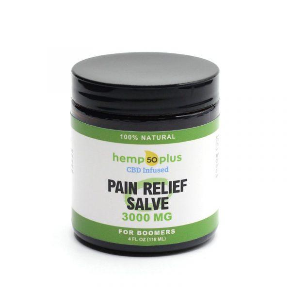 cbd pain relief salve - broad spectrum - 3000 mg - 4 oz