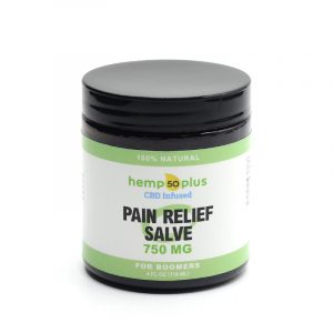 cbd pain relief salve - broad spectrum - 750 mg - 4 oz