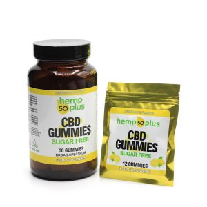 cbd gummies - 12 count packet, 50 count jar