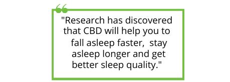 cbd for sleep - block quote