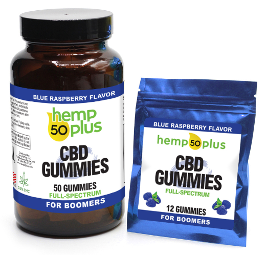 cbd gummies - 12 and 50 count